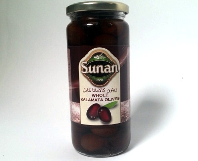 Whole Kalamata Style Olives Sunan