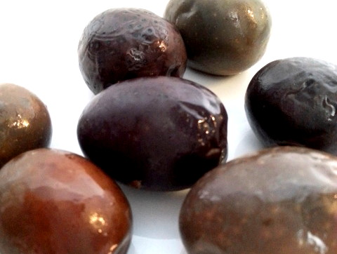 Black Greek Olives Super Colossal Salonika 26.4...