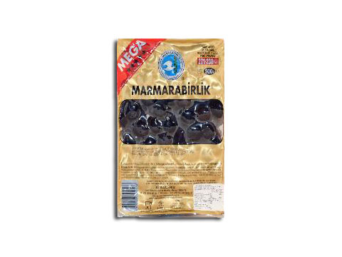 Gemlik Oil-Cured Olives (size: Mega) Marmarabir...