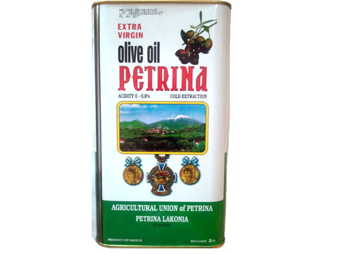 Petrina Extra Virgin Olive Oil 3L (Cold Extraction)