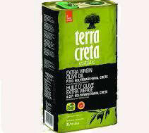 Terra Creta Estate Extra Virgin Olive Oil 3L