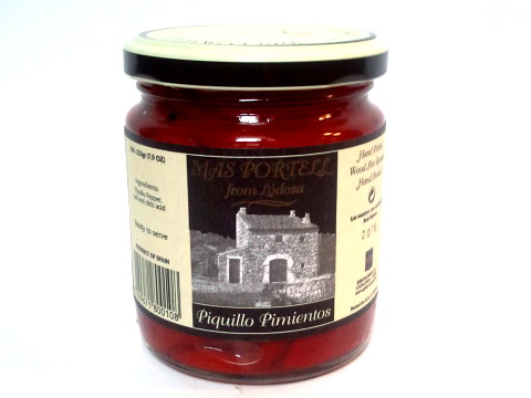 Pons Red Peppers Pimentos Piquillo Mas Portell 7.9oz