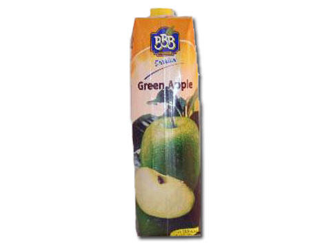 Bulgarian Green Apple Juice BBB 1L Tetra