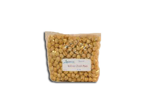 Yellow Roasted Chick Peas per lb