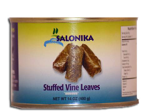 Stuffed Grape Leaves Salonika 14oz (400g)